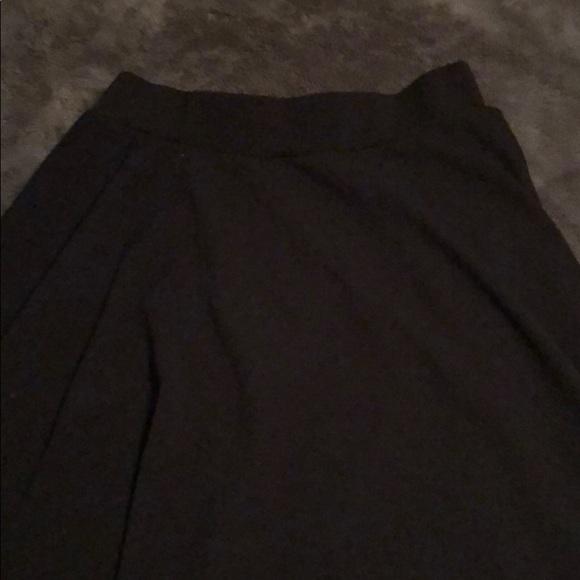 Amelia James Dresses & Skirts - L Amelia James A-line black skirt